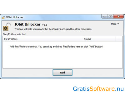 IObit Unlocker screenshot