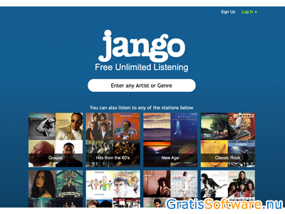 jango-radio screenshot