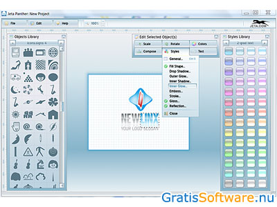 Jeta Logo Designer screenshot