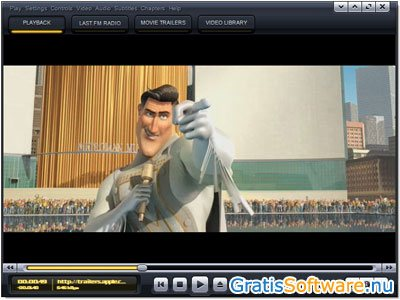 Kantaris Media Player screenshot