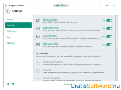 Kaspersky Free screenshot