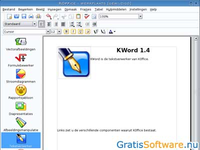 KOffice screenshot