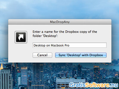 MacDropAny screenshot