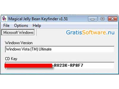 Magical Jelly Bean Keyfinder screenshot