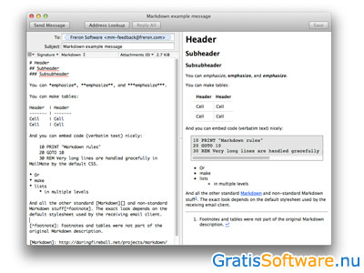 MailMate screenshot
