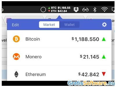 Alle cryptocurrency koersen app
