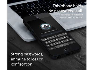 Master Password screenshot