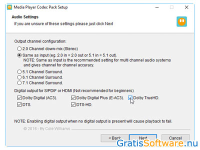 how to download codecs automatically