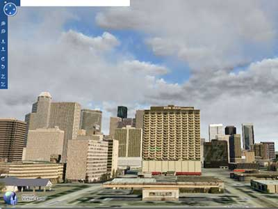 Microsoft Virtual Earth 3D screenshot