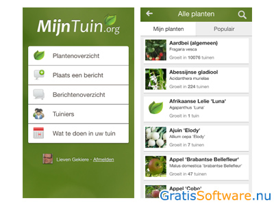 mijntuin screenshot