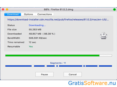NeatDownloadManager screenshot