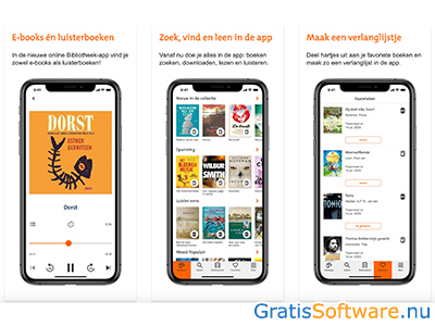 online bibliotheek screenshot