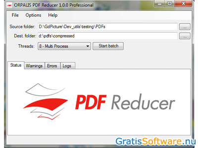 ORPALIS PDF Reducer screenshot