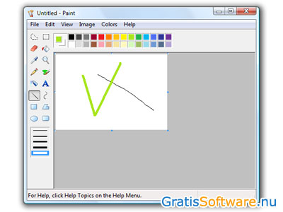 Microsoft Paint screenshot