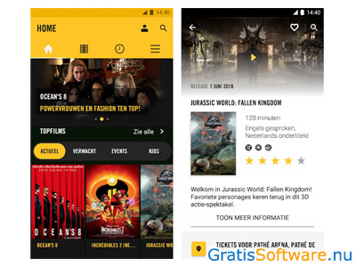 pathe-app screenshot