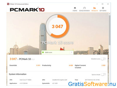 PCMark 10 screenshot
