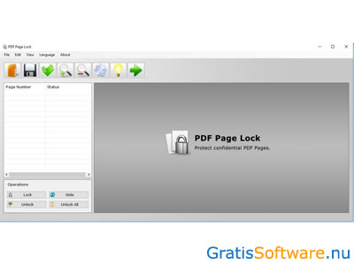 PDF Page Lock screenshot