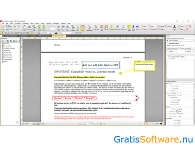 PDF-XChange Editor screenshot
