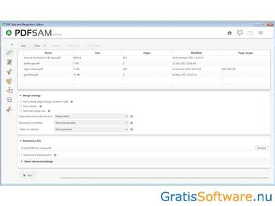 WatFile.com Download Free PDFsam Downloaden - Gratis PDF's Bewerken