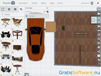 Planner 5d gratis design en interieursoftware for Planner 3d gratis
