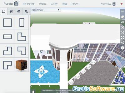 Gratis 3d interieur ontwerp software downloaden for Tuin tekenen programma
