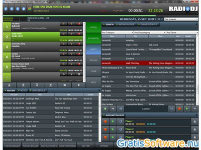 RadioDJ screenshot