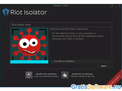 Riot Isolator screenshot
