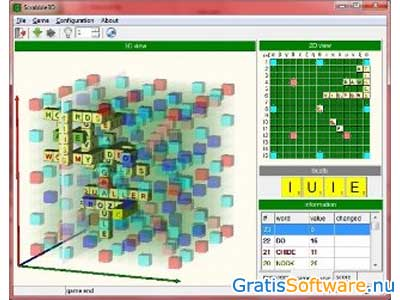 Scrabble3D screenshot