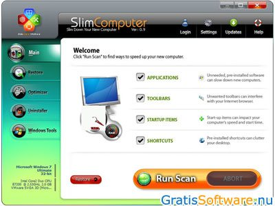 SlimComputer screenshot