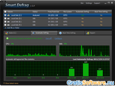 Smart Defrag screenshot