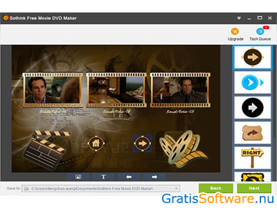 Sothink Free Movie DVD Maker screenshot