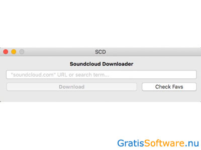 Soundcloud Downloader for Mac screenshot