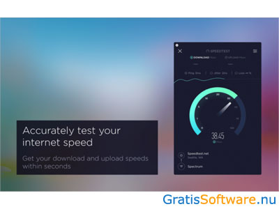 Speedtest screenshot