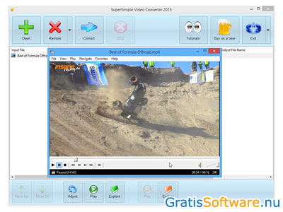 SuperSimple Video Converter screenshot