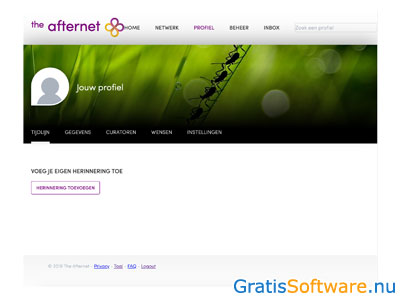 The Afternet screenshot
