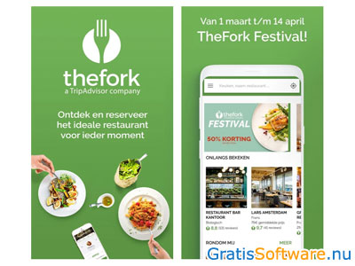 thefork screenshot