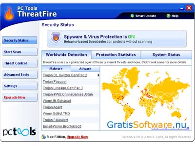 ThreatFire AntiVirus screenshot