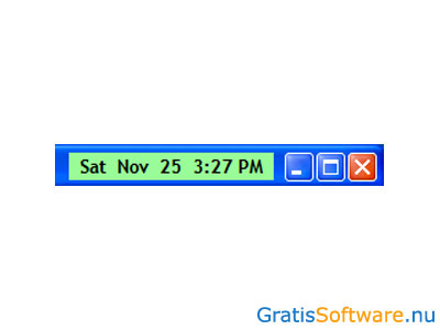 Titlebar Date-Time screenshot