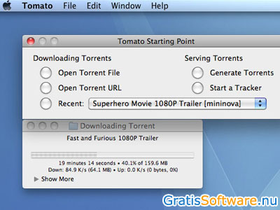 Tomato Torrent screenshot