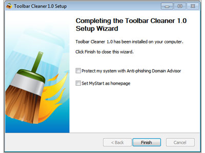 Toolbar Cleaner screenshot