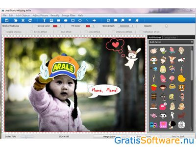 ToolWiz Pretty Photo screenshot