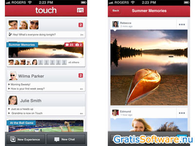 Touch screenshot