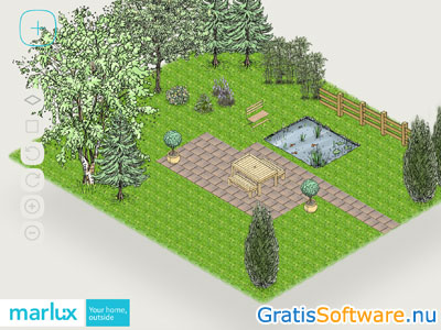 Gratis tuinontwerp software apps for Interieur ontwerpen online gratis