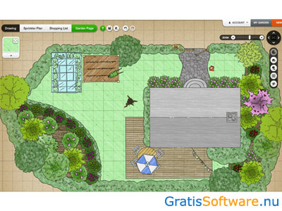 Gratis tuinontwerp software apps for App plattegrond tekenen