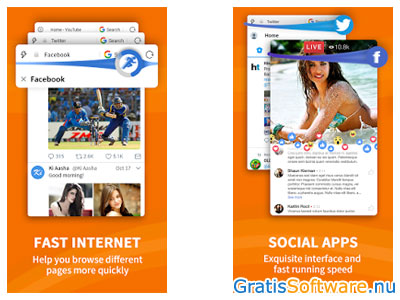 UC Browser screenshot