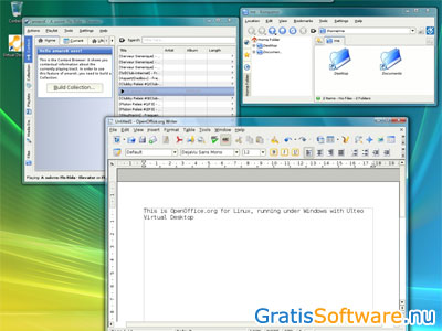 Ulteo Virtual Desktop screenshot