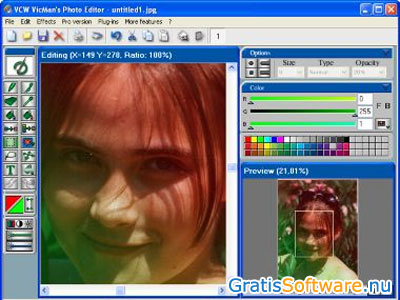 VCW VicMan's Photo Editor screenshot