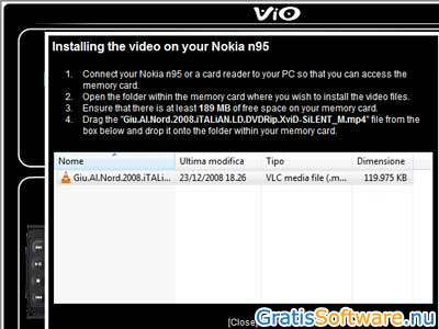 ViO Mobile Video Converter screenshot