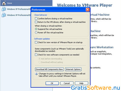VMware Player screenshot