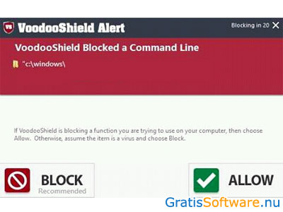VoodooShield screenshot